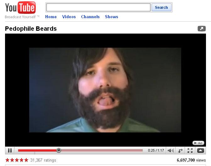 3c9b82e71df Pedophile Beards Bizarro Roby